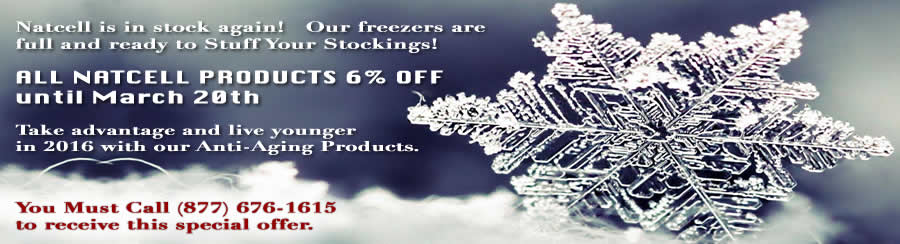 Natcell Frozen glandular extracts on Sale